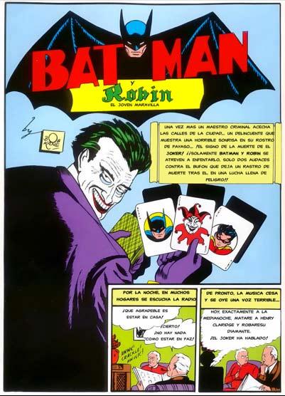 Primera aparición del Joker