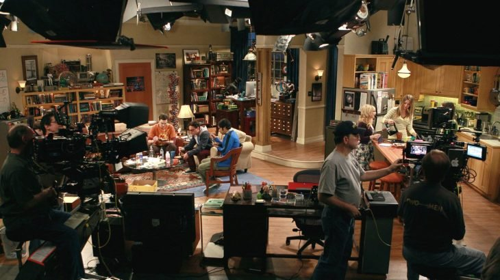 Filmación de The Big Bang Theory