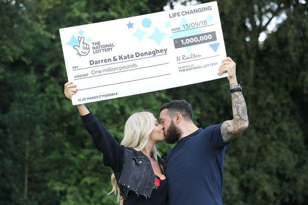 Darren y kate donaghey lotería