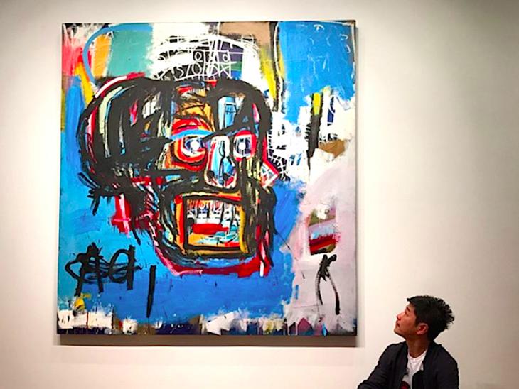 Pintura de Jean-Michel Basquiat