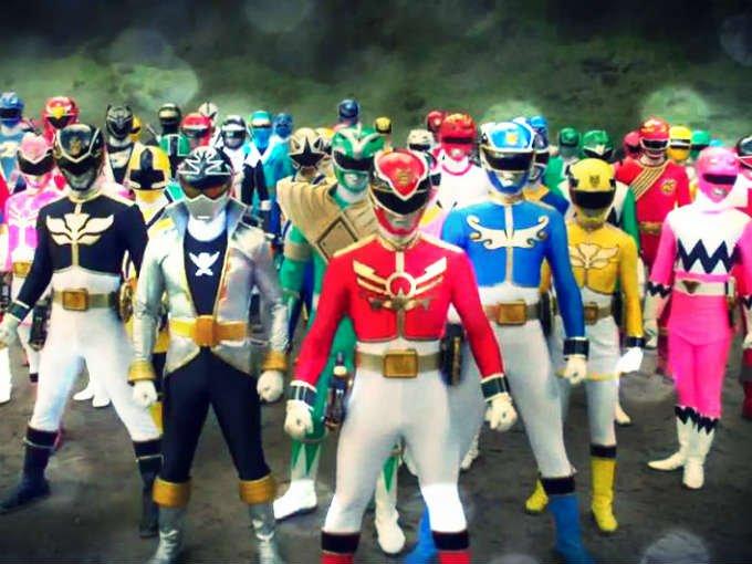 Todos los Power Rangers