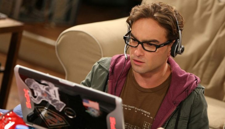 Leonard en The Big Bang Theory
