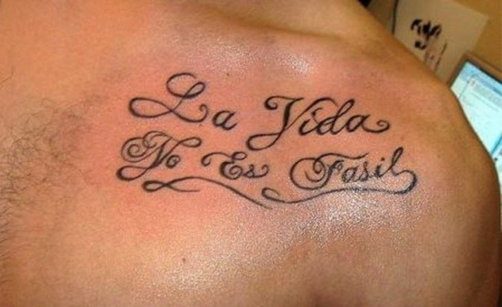 Tatuajes horrendos