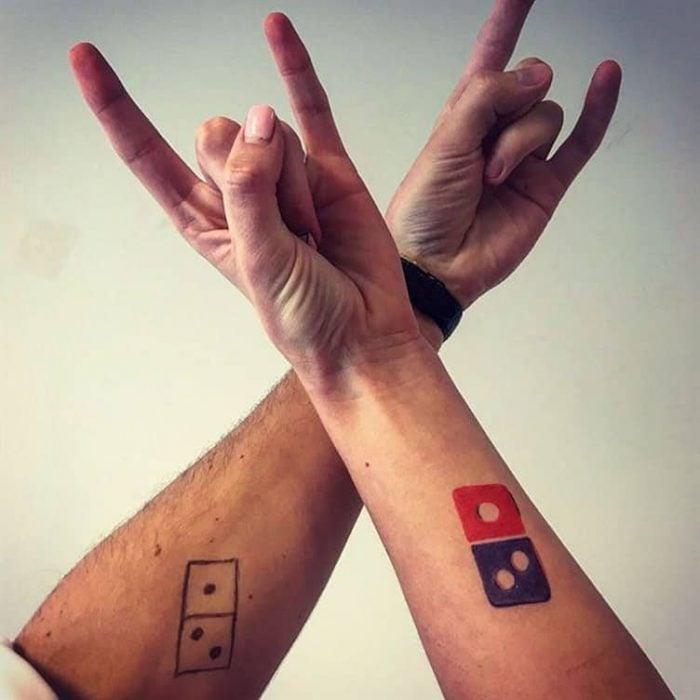 Tatuajes de Domino's