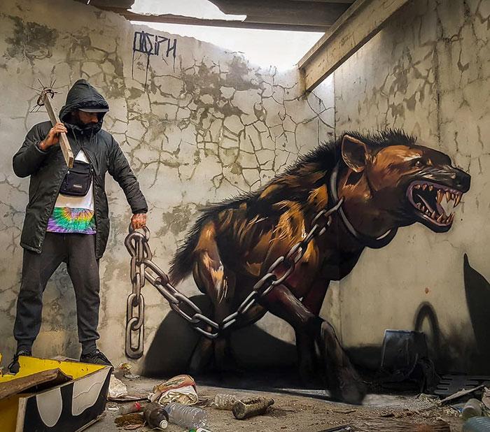 Arte urbano de Sergio Odeith