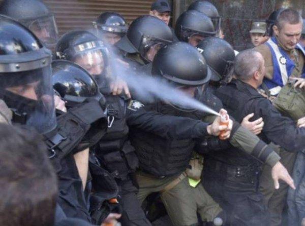 Personas tontas policía