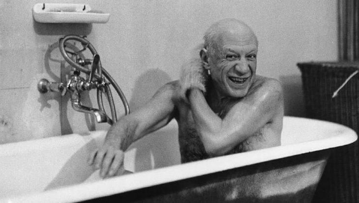 Picasso en la tina