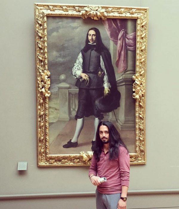 Doble en museo
