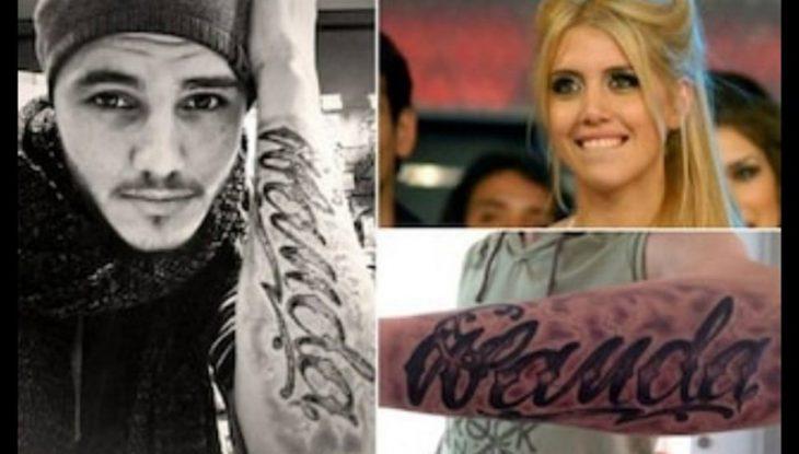 se tatua el nombre de tu mujer