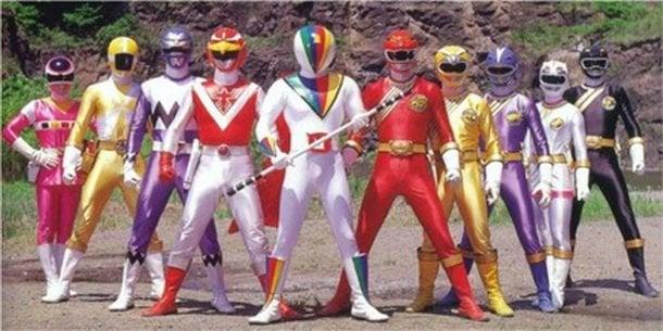 Super Sentai y Power Rangers