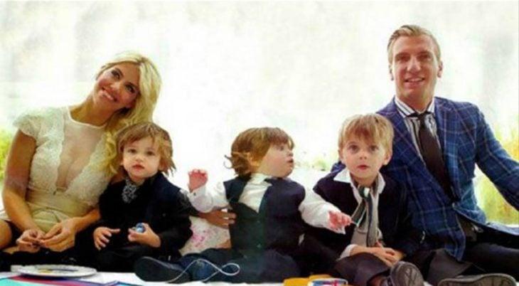 y formas una hermosa y gran familia