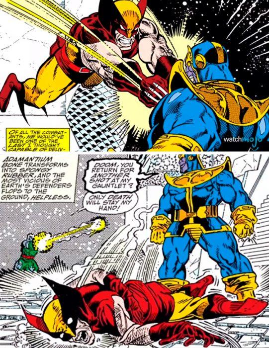 Thanos wolverine