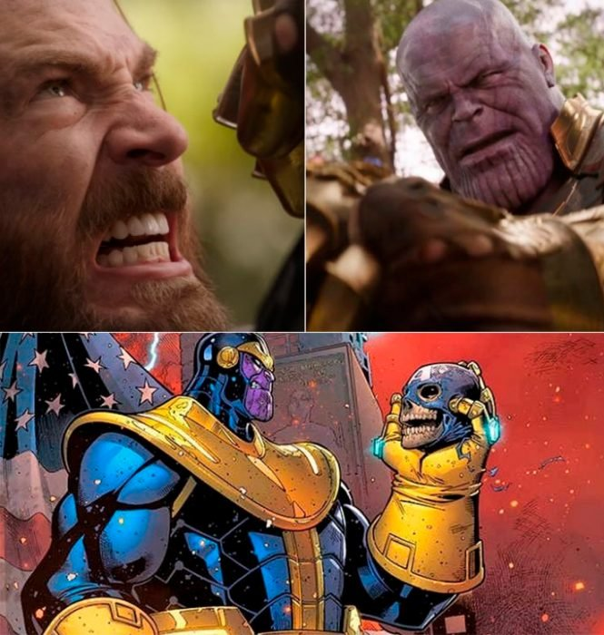 Thanos capitan américa