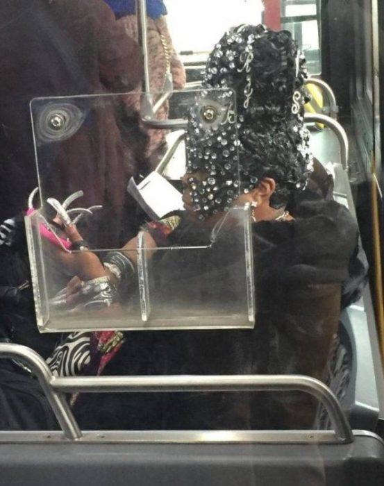 Criaturas extrañas en el Metro