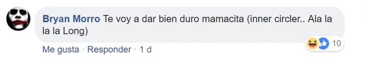 Respuestas en Facebook
