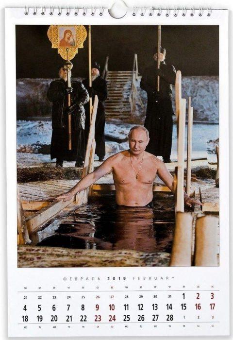 calendario Putin enero