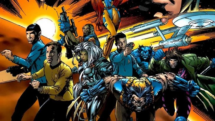 X Men y Star Trek