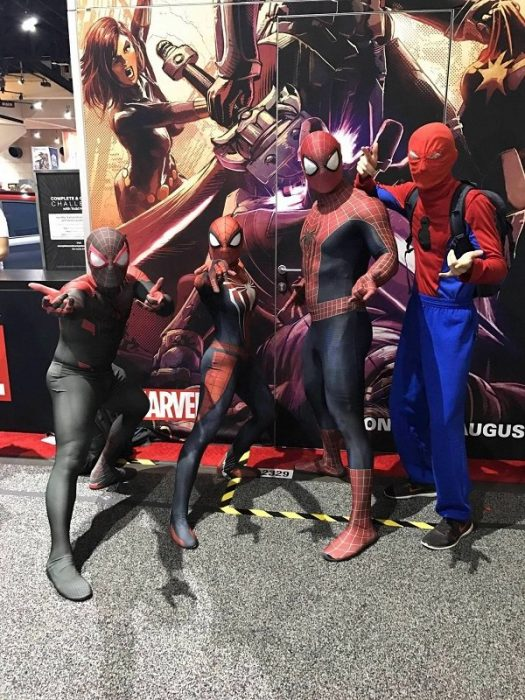 disfraz barato spiderman
