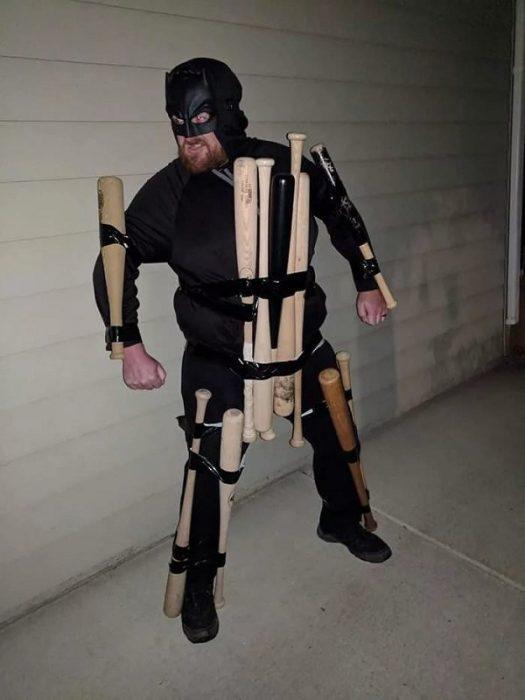 disfraz barato batman