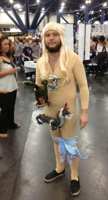 disfraz barato daenerys