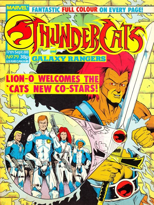 Thundercats en cómic