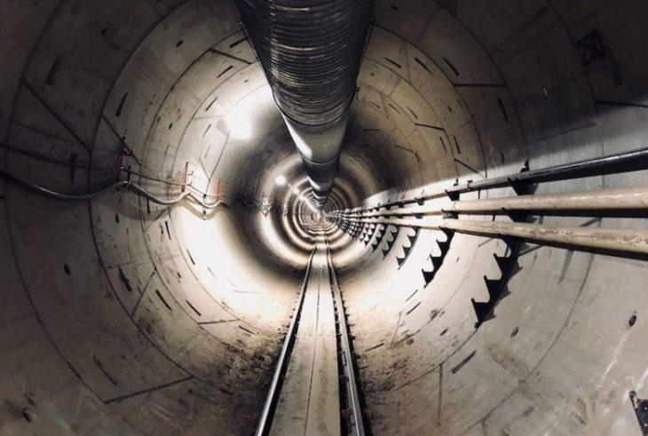 Túnel de alta velocidad de Elon Musk