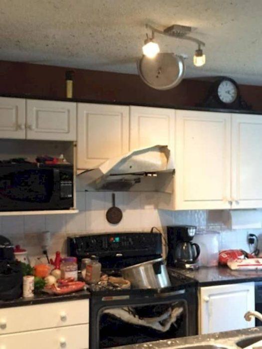 Desastres culinarios