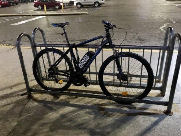 idiotas bicicleta