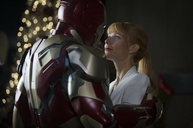Iron Man y Pepper Potts