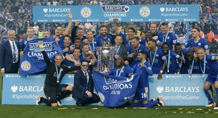 Leicester campeones