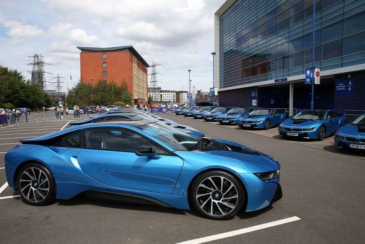 Autos para jugadores del Leicester