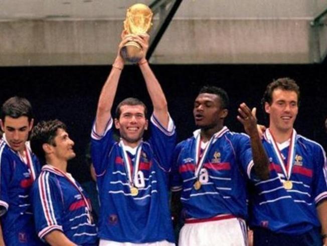 Francia campeón en 1998