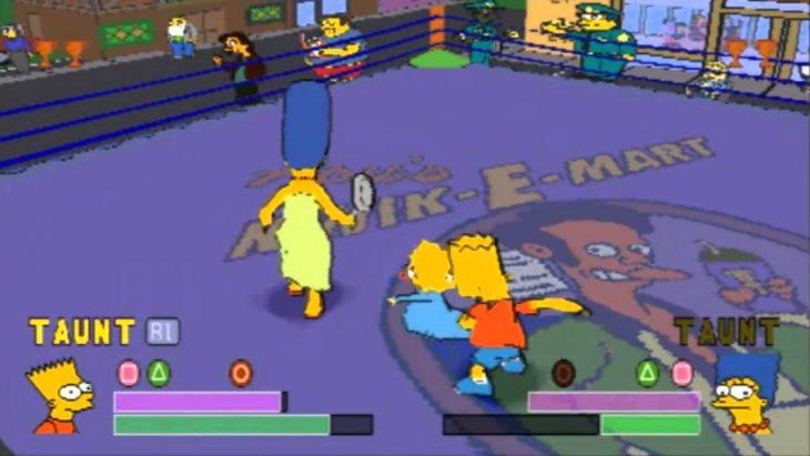 Los Simpson Wrestling