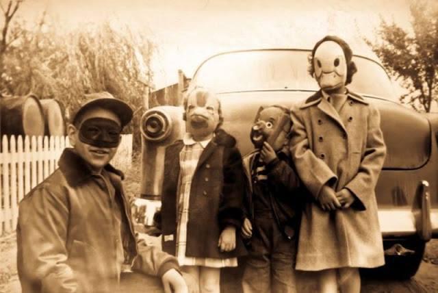 Disfraces antiguos de Halloween