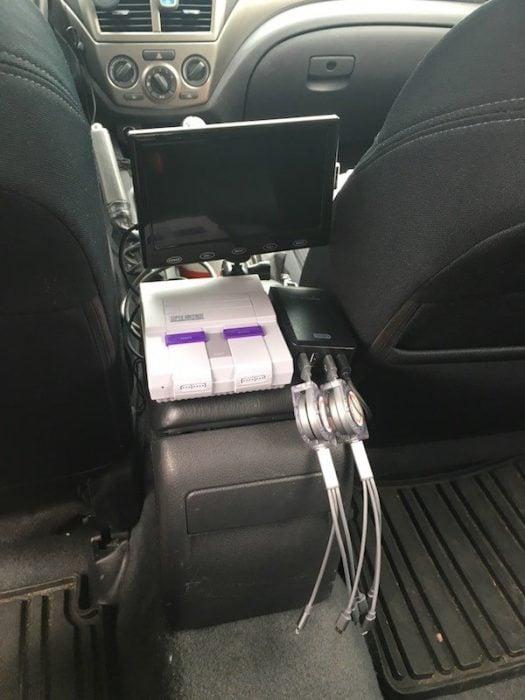 Conductores Uber super nintendo