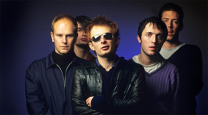 Nombre original de radiohead