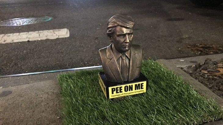 Estatua de Trump