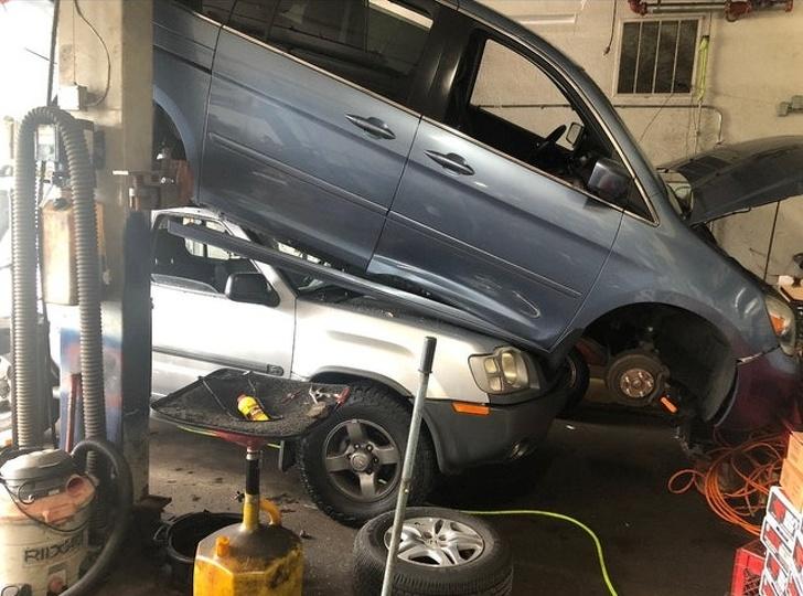 peor día mecánico