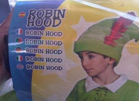 Peores diseños robin hood