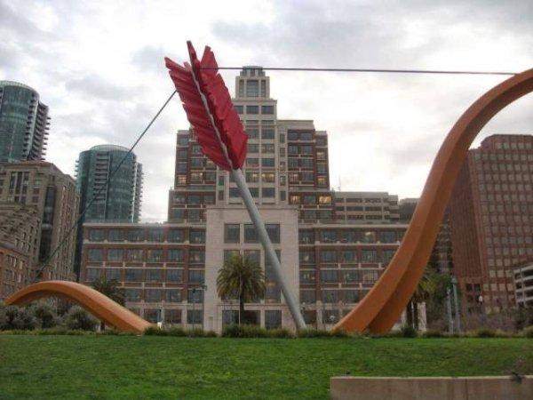 Objetos gigantes arco