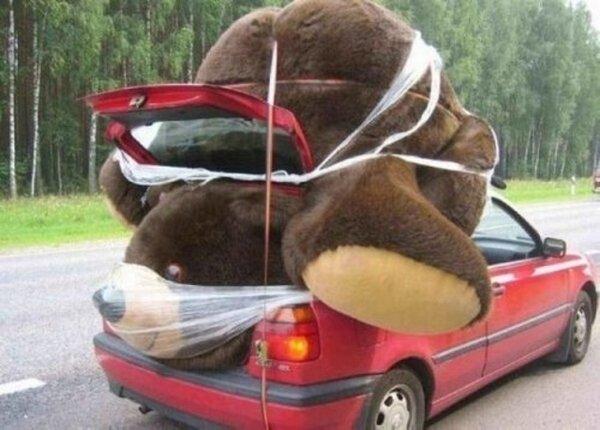 Objetos gigantes oso