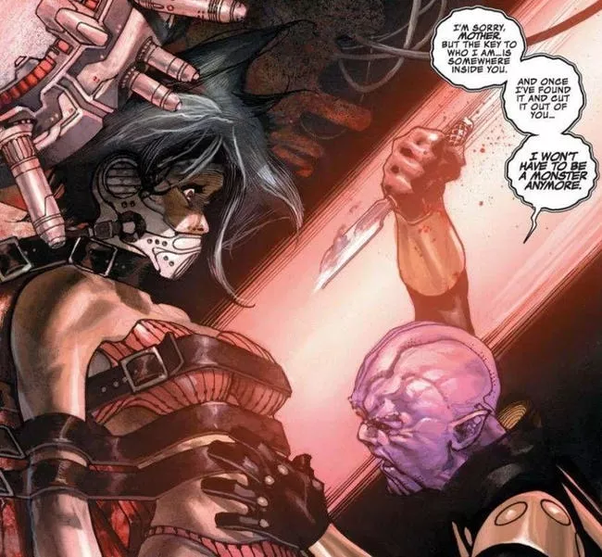Thanos matricida