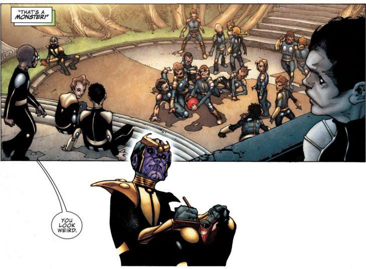 Thanos escuela