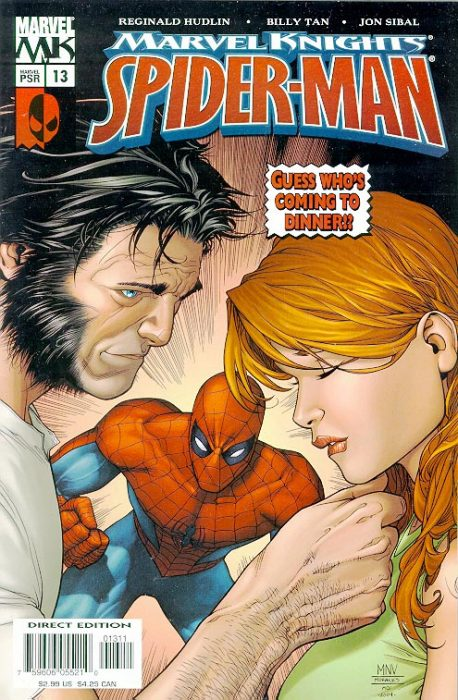 Wolverine y Mary Jane