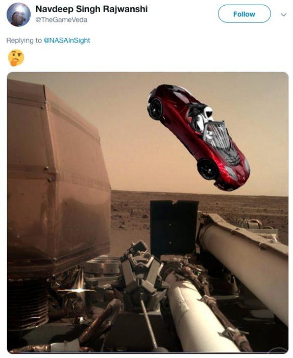 memes de marte coche