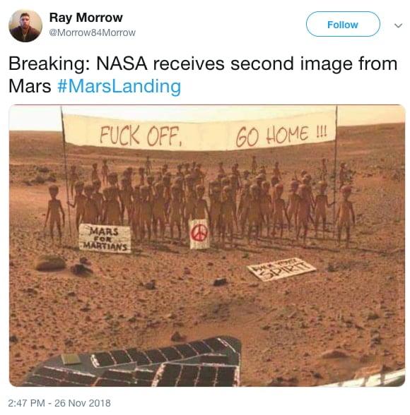 memes de marte aliens 2
