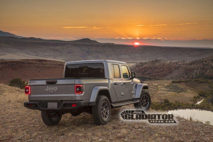 Jeep Gladiator 2020vista trasera