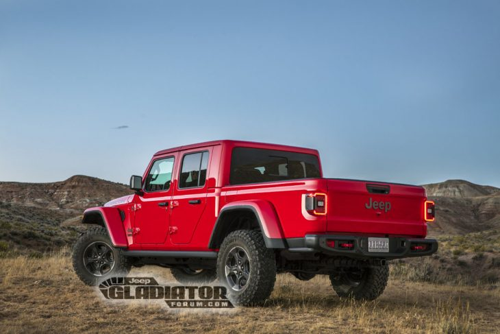 Jeep Gladiator 2020 roja