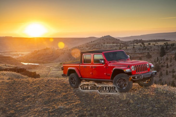 Jeep Gladiator 2020 diagonal