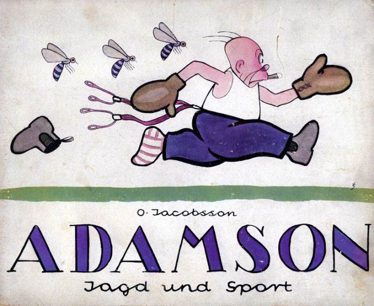 adamson comic
